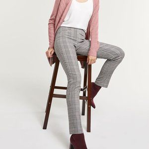Reitman's The Iconic Grey Plaid Pull-On Trousers